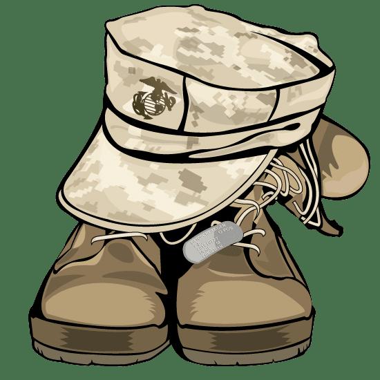 Cpl. Chad O Boot Logo