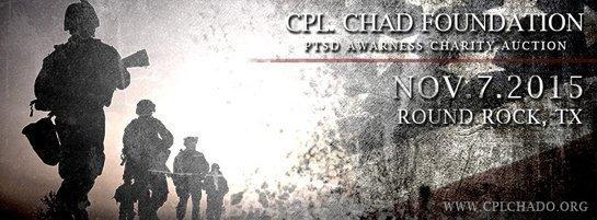 PTSD Charity auction banner