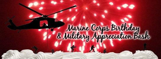 Marine Corps Birthday event banner
