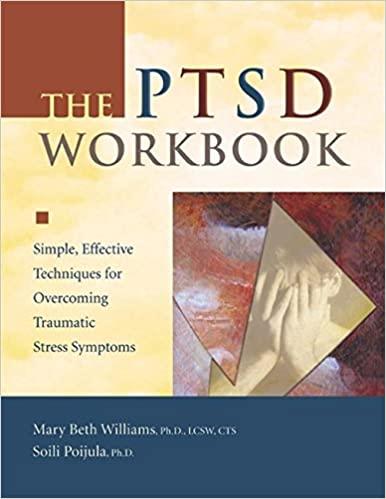 PTSD Workbook book cover