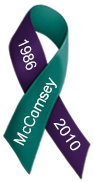 McComsey Memorial Ribbon